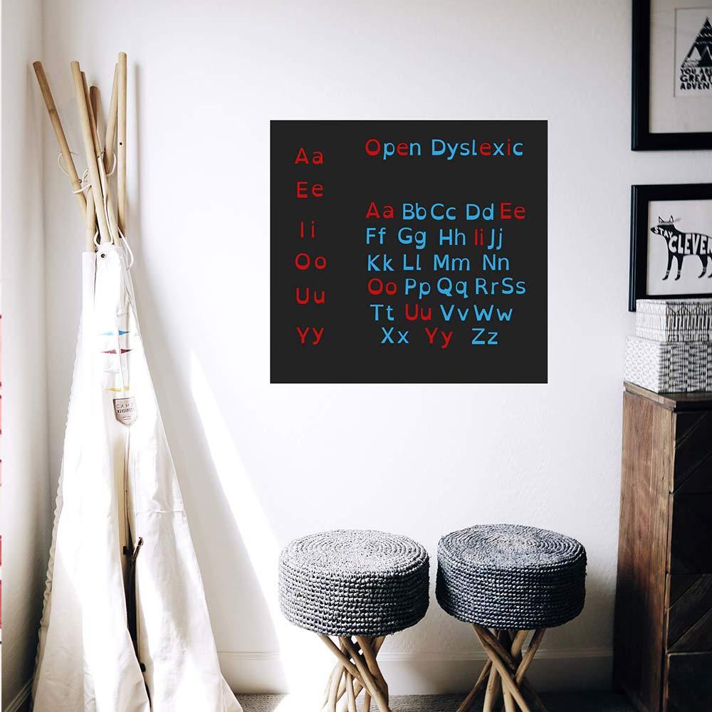 aimant alphabet open dyslexic