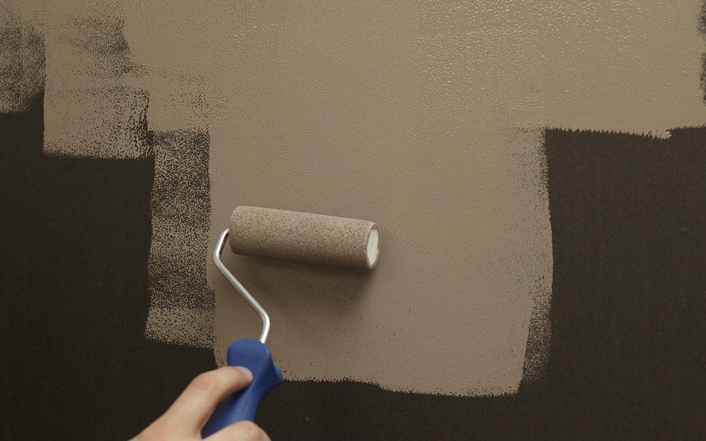 peindre du papier peint magnétique