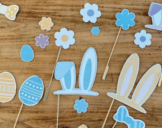 photobooth lapins de pâques