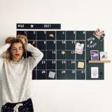 calendrier magnétique mural