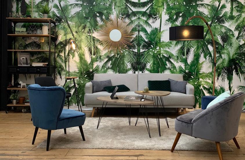 Le papier peint, la pièce décoration de 2021